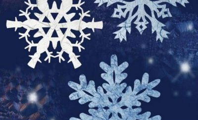 how to make paper snowflakes easy and quick