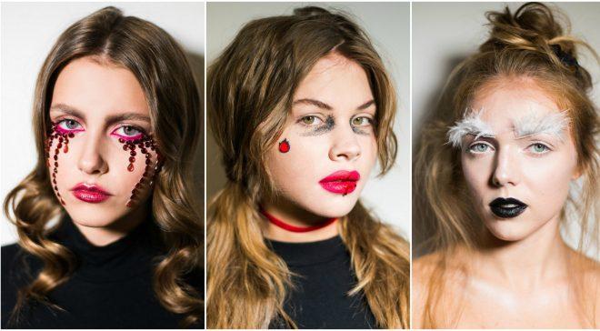 5 easy last minute halloween makeup ideas for girls and women tutorials
