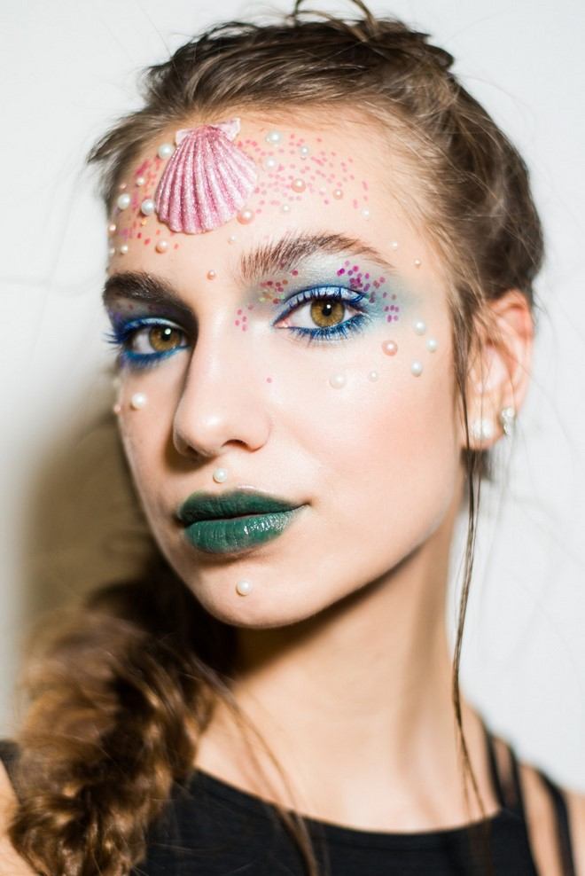 not scary last minute makeup for girls mermaid