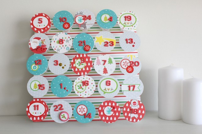 Advent Calendar Adults Diy : How to make a christmas advent calendar homemade ideas