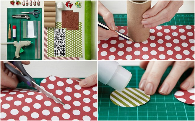 Handmade Calendar Tutorial : Ideas for homemade toilet paper roll advent calendars