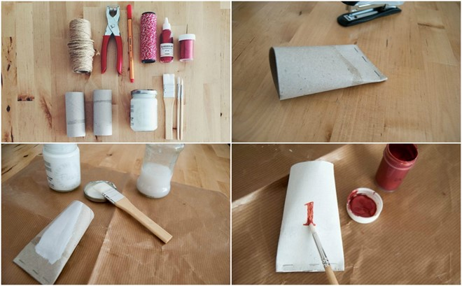 homemade christmas advent calendar for toddlers paper rolls pockets