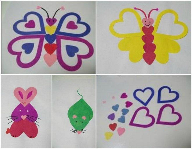 How To Make Heart Animals 15 Valentines Paper Crafts For Preschoolers