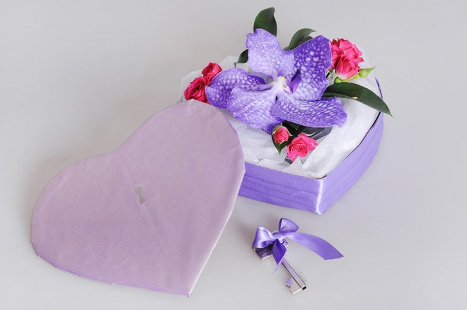 beautiful orchid flower gifts romantic orchid box valentine's day