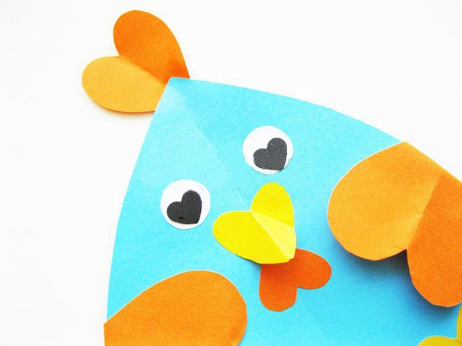 construction paper chicken craft kindergarden