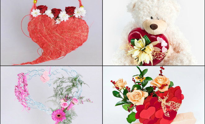 How To Make Valentine S Day Flower Gifts 5 Unique And Different Ideas