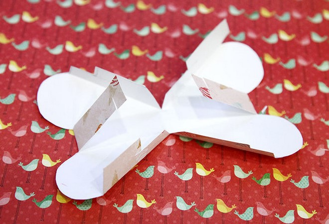 origami heart gift box instructions