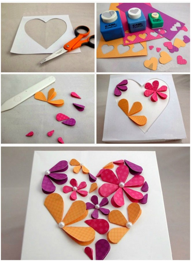 paper artwork step by step gift idea flowers