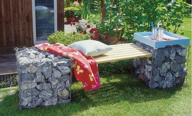 Surprising This Is How To Build A Gabion Bench Seat And Stools For Your Gmtry Best Dining Table And Chair Ideas Images Gmtryco