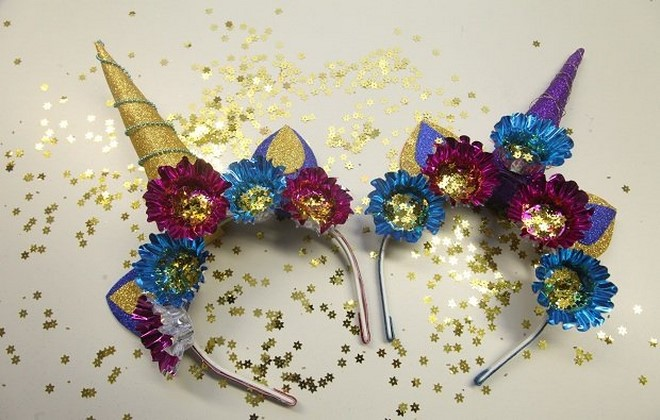 unicorn headband how to make tutorial