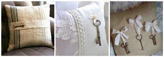 creative ideas how to use old keys