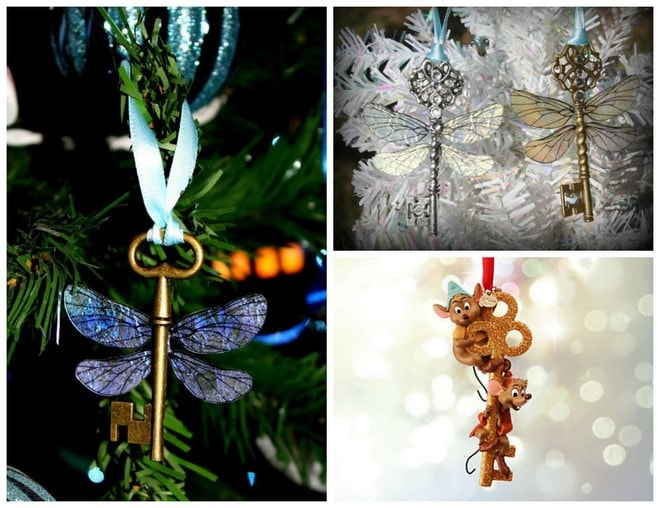 new uses for old keys diy decorating ornaments