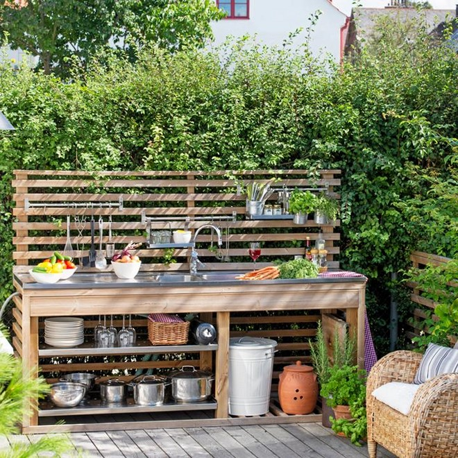 how to build an outdoor kitchen step by step wood frame