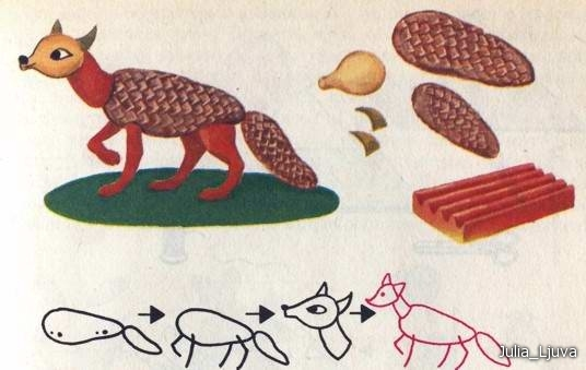 autumn craft ideas for preschool fox