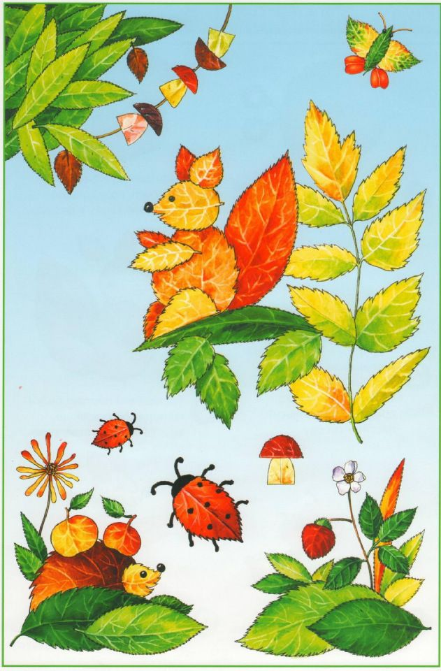 fall leaf art projects for preschool