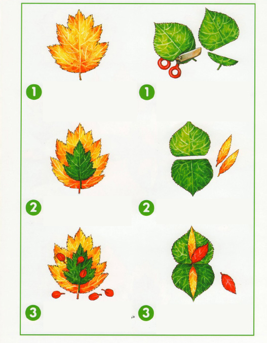 fall leaf crafts for preschool autumn painting trees