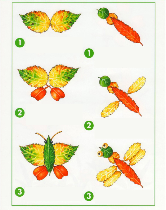 fall leaf crafts for preschool how to make butterflies