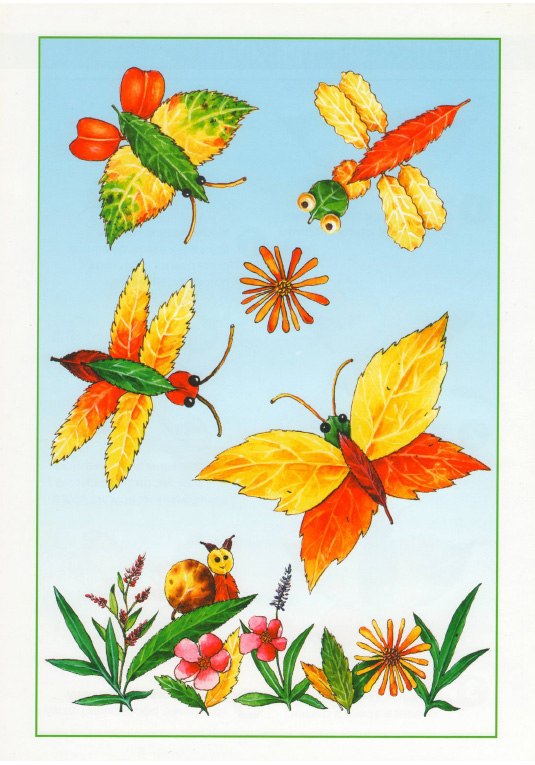 fall leaf crafts for preschool ideas projects butterflies