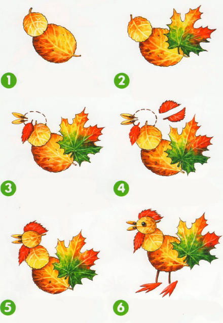 fall leaf crafts for preschool