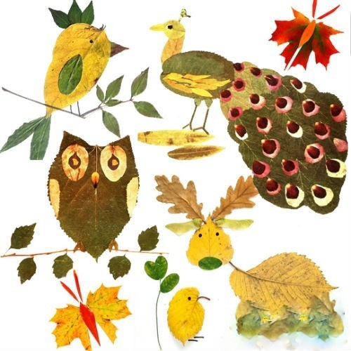 real autumn leaf projects for first grade