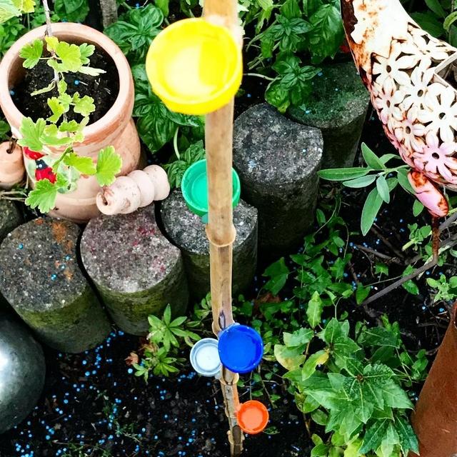 bee water feeder diy for kids garden project